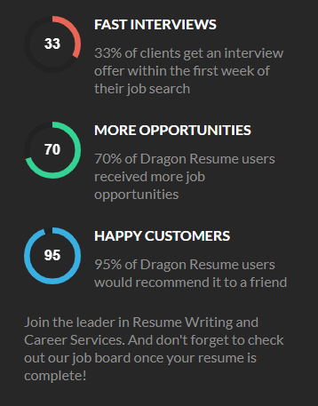dragon resume benefits