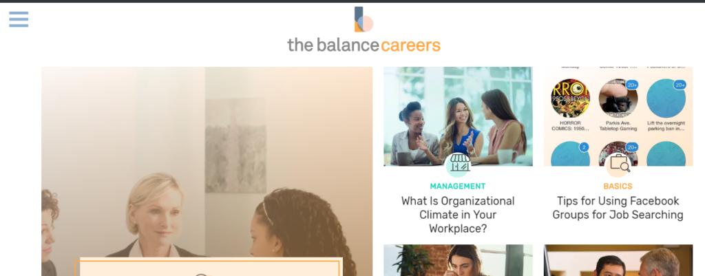thebalancecareers.com review
