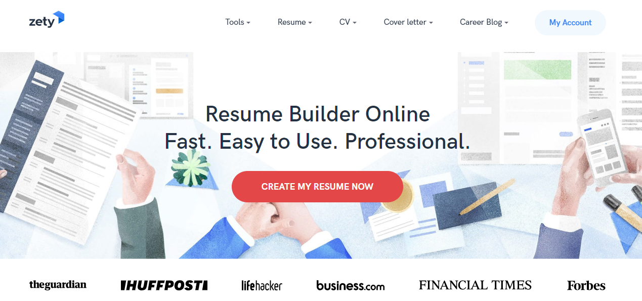Zety Com Review Resume Writers List